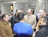 صور.. محافظ كفر الشيخ يتفقد التدابير الوقائية بمستشفى الحميات