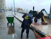 محافظ الإسكندرية: أزلنا 80% من مياه الأمطار من الشوارع في ساعتين فقط