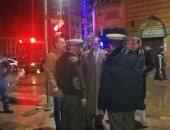 صور.. محافظ كفر الشيخ يتفقد أعمال كسح مياه الأمطار بالشوارع ليلاً