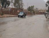 صور.. أمطار رعدية غزيرة ورياح شديدة برأس سدر وشرم الشيخ وسانت كاترين
