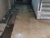 مياه الصرف تحاصر سكان شارع عبد الله الشرينى بمدينة نصر