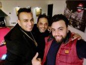 محمود الليثى ينتهى من تسجيل أغنية جديدة بتوقيع مدين وملاك عادل