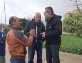 قيادات الإسكان يتفقدون مدينة الشروق لمتابعة أعمال شفط مياه الأمطار