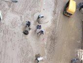 أهالى عزبة سوق السبت بالإسماعيلية يطالبون بشفط مياه الأمطار