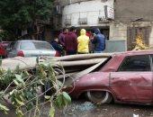 الإدارة العامة للمرور توصى بتوخى الحذر بسبب الرياح والأتربة على الطرق