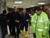 شركة مياه القليوبية تنجح في رفع مياه الأمطار من محطة قطارات بنها