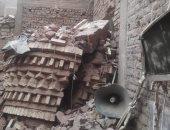 كنيسة السيدة مريم بقنا تعلن المساهمة فى بناء مأذنة سقطت بسبب الطقس السئ