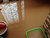 قارئ يستغيث لشفط تجمع مياه الأمطار بقرية العز بالشرقية