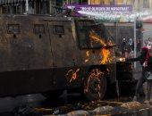 استمرار الاشتباكات بين المتظاهرين والأمن فى تشيلى