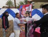 الداخلية تقدم مساعدات انسانية لمتضرري الامطار بالقاهرة الكبرى.. صور