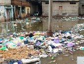 فيديو وصور.. مياه الأمطار تحاصر منازل قرية السيالة بدمياط