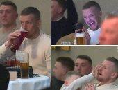 حارس إنجلترا يتجاهل العزل الذاتي ويغامر بحياته من أجل مباراة ملاكمة.. صور