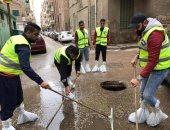 """صور.. غرف عمليات """"مستقبل وطن"""" تساند الأجهزة التنفيذية فى أعمال شفط مياه الأمطار"""