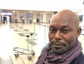 النجم العالمى جيمى لويس يغادر القاهرة بعد زيارة المعالم السياحية.. فيديو وصور