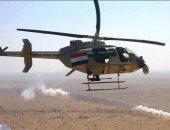 تحليق منخفض للطيران العراقى شمال بغداد بعد قصف معسكر التاجى