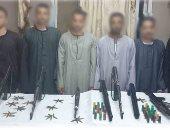 ضبط 31 قطعة سلاح وتنفيذ 1319 حكما قضائيا فى حملة أمنية بسوهاج