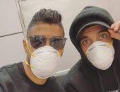 بن شرقى وأوناجم يغادران القاهرة بعد توقف النشاط الرياضى بسبب كورونا