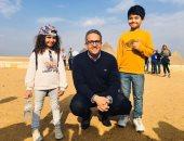 وزير السياحة والآثار: الأهرامات تاريخ عظيم وماض نعتز به ونظرات انبهار من ضيوفنا