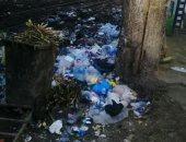 أهالى شارع بن الوليد بالإسكندرية يعانون من تراكم القمامة