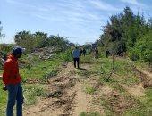 صور.. استرداد 2970 مترا من أراضى السكة الحديد شرق الإسكندرية