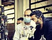 """شاهد.. محمد سامى بالكمامة فى تصوير مسلسل """"البرنس"""""""