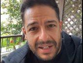 حماقى يكشف حقيقة إجرائه تحليل للاشتباه فى إصابته بفيروس كورونا.. فيديو