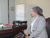 سحر عبد الحق تناقش ترتيبات دوري مراكز شباب الكرة النسائية