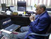 """رئيس جامعة المنيا : بدء تطبيق """"التعليم عن بعد"""" للطلاب على موقع الجامعة"""