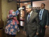 وزير الكهرباء: لن يسمح بدخول أى شخص الوزارة بدون كمامة والمرور من ممرات التعقيم
