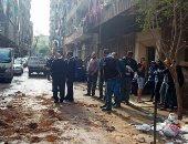 تحقيقات انهيار سقف محل بالجمالية: بناء مخزن مخالف السبب