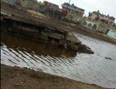 أهالى قرية طراد بمحافظة الدقهلية يشكون تراكم مياه الأمطار