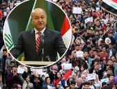 """القوات الأمنية العراقية تتسلم قاعدة القائم بعد انسحاب """"التحالف الدولى"""""""