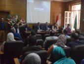رئيس جامعة بنها: اتاحة المقررات الدراسية إلكترونيًا لطلاب الكليات المختلفة