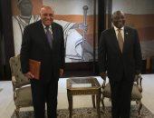رسالة من السيسى لرئيس جنوب أفريقيا بشأن تطورات سد النهضة يسلمها شكرى