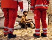"""عشرات الأشخاص على أرصفة روما """"بلا مأوى"""" مع خطر انتشار فيروس كورونا"""