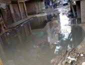 أهالى عرب الساحة بالحوامدية يشكون غرق شوارع القرية بمياه الصرف الصحى