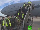 شاهد.. طائرة عسكرية فرنسية تتحول إلى مستشفى طائر