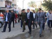 صور.. محافظ سوهاج يتفقد سوق مدينة ناصر تمهيدا لنقله خارج الكتلة السكنية