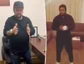 على ربيع ومحمد عبد الرحمن ومصطفى خاطر يخوضون تحدى المنديل.. فيديو
