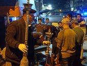مصادرة 455 شيشة داخل 52 فى حملة مكبرة لشرطة المرافق بالمحلة