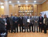 جامعة بنها تحصل على تجديد شهادة الجودة أيزو 9001 - 2015