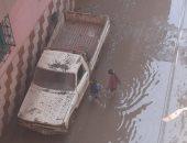 أهالى مركز مشتول بالشرقية يشكون انتشار مياه الصرف الصحى