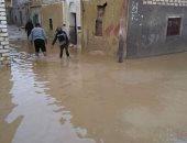 أهالى قرية العقدة بالشرقية يطالبون بشفط مياه الأمطار المتراكمة
