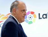 رئيس رابطة الدورى الإسبانى يتوقع خفض رواتب اللاعبين وتقليص التعاقدات