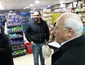 محافظ بورسعيد يتابع تنفيذ قرار غلق المحلات والمطاعم والكافتيريات ويحذر المخالفين للتعليمات