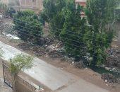 أمطار متوسطة تضرب بعض مدن القليوبية