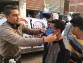 شباب الحرية المصرى يطلقون حملة توعية بمركز بلقاس للوقاية من الكورونا