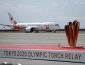 وصول الشعلة الأولمبية إلى اليابان رغم احتمالات تأجيل الأولمبياد