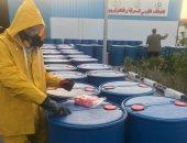 ارتفاع الإنتاج المحلى من السولار إلى 805 ألف طن في شهر واحد