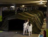 إسبانيا تنشئ مخيمات لاستقبال المزيد من المصابين بفيروس كورونا